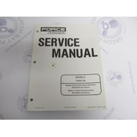 90-832749R2 1998 Mercury Force Outboard Service Manual 75/90/120 HP