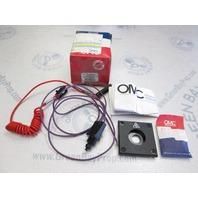 0174649 174649 OMC Cobra Stern Drive Stop Cutoff Switch Kit 1988-98