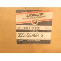 855-5646A3 Mercury 650 3Cyl. Outboard Cylinder Block (Not Short Shaft) NLA