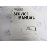 90-855906 Mercury Force Outboard Service Manual 9.9/15 HP 1998 & up