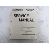90-857138 Mercury Mariner Outboard Service Manual 4/5 HP 4-Stroke