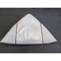 1986 Bayliner Capri Boat Bow Seat Cushion Red Stripe