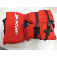 67-8779061 INFANT/CHILD NYLON VEST- Up to 50lbs, Red Type II PFD