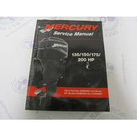 90-878079R01 Mercury Mariner Outboard Service Manual 135 150 175 200