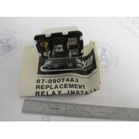 87-89074A3 89074A2 Relay Assy for Mercury Mercruiser Marine Engines