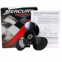 48-896896A40 Fits Mercury  25-30 HP Prop 9 1/2  x 11 Pitch 3-Blade Alum Propeller