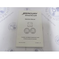 90-10229021 Mercury SmartCraft Boat Gauge Systems Operation Manual