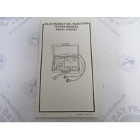 90-13833-4 Mercury Outboard Electronic Fuel Injection Tester Manual
