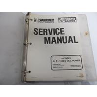 90-17308-1 Mercury Mariner Outboard Service Manual 4-5 HP 102CC Sail Power