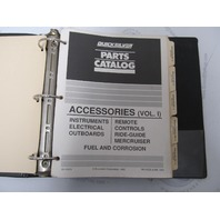 90-41573 Quicksilver Mercury Marine Accessories Parts Catalog Volume 1