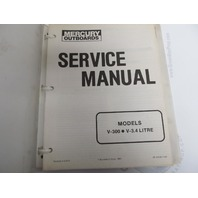 90-43508 Mercury Outboard Service Manual V-300, V-3.4L