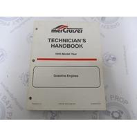 1995 Mercury Mercruiser  Gasoline Engine Technicians Handbook 90-806535950