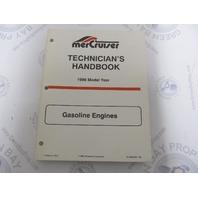 1996 Mercury Mercruiser  Gasoline Engine Technicians Handbook 90-806535960