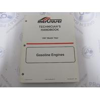 1997 Mercury Mercruiser  Gasoline Engine Technicians Handbook 90-806535970