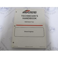 1996 Mercury Mercruiser Diesel Engine Technicians Handbook 90-806536960