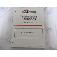 1997 Mercruiser In-Line Diesel Engines Technicians Handbook 90-806536970