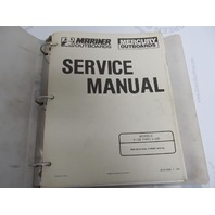 90-814098-1 Mercury Mariner Outboard Service Manual V-135 thru V-200