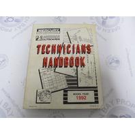 1992 Mercury Mariner Outboard Technicians Handbook