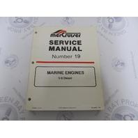 90-823227 MerCruiser Service Manual Number 19 V-8 Diesel Marine Engines