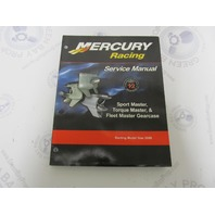 90-842009 2005 Mercury Racing Outboard Service Manual Sport Master