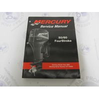 90-858896 2001 Mercury Outboard Service Manual 50/60 HP 4-Stroke