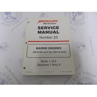 90-861326-1 MerCruiser Service Manual Number 23 GM V-8 Marine Engines Book 1