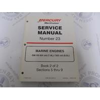 90-8613261 MerCruiser Service Manual Number 23 GM V-8 Marine Engines Book 2