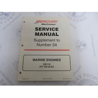 90-861327000 MerCruiser Service Manual Supplement to Number #24 GM V8 Marine Engines