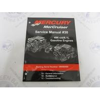 Mercury Mercruiser #30 Service Manual 496cid/8.1L Gasoline Section 1