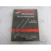 90-865612060 Mercury Mercruiser #39 Bravo Service Manual Section 7