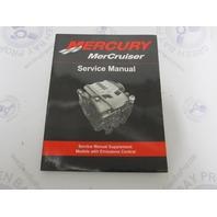 90-879288023 Mercury Mercruiser Service Manual Supplement Emissions Control
