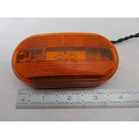 "Amber Oblong Two Bulb Boat Trailer Clearance Light 4"" x 2"""