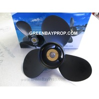 11 x 16 Pitch Aluminum Propeller for Mercury Mariner 25-70 HP Outboards
