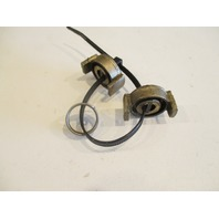 0980274 908382 OMC Stringer Tilt Motor Coupling & Key Spring 1973-85 980274