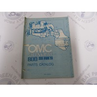 982251 1979 OMC Stern Drive Parts Catalog Final Edition 800 Series