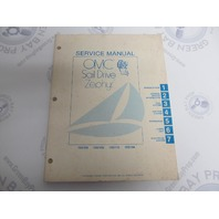 982850 OMC Sail Drive Zephyr Serive Manual 15 HP
