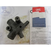 0986521 986521 OMC Cobra 2.3L Stern Drive Thermostat Housing Kit NLA
