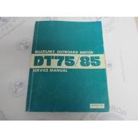 99500-95515-01E Suzuki Outboard Service Manual for DT75/85