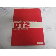 99500-98404-01E Suzuki Outboard Service Manual for DT2