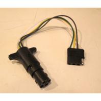 "ADP424 TAP USA Adjustable 4-Way Round to 4-Way Flat 12"" Long Plug Adapter"