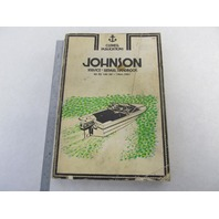 1965-1981 Clymer Johnson Outboard Shop Service Repair Manual 4-140 HP