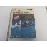 1985-1991 Clymer Suzuki Outboard Shop Service Manual 2-225 HP