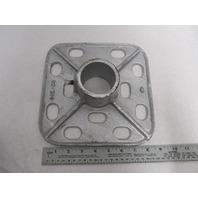 """DB-700 Roloff Mfg Bottom Base 9-1/2"""" Square, 2-3/8"""" Pipe"""