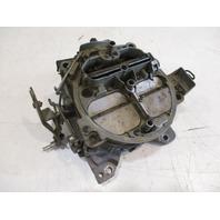 4 Barrel Carburetor OMC Stern Drive 1987 5.0 V8 Carb Rochester Quadajet 982223