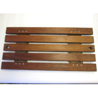 "Four Winns Teak Wood Ski Deck Hatch Cover 31"" by 15"""