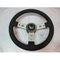 "Dino Boat Steering Wheel for a Bayliner Capri 13.5"" 3 Spoke Aluminum"