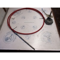 304411-168 Morse 14 Foot Boat Rotary Steering Cable & Helm