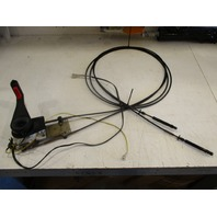 OMC Remote Control Box Assembly for Johnson/Evinrude/Cobra with 12' & 13' Cables