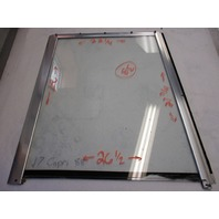 Bayliner Front Driver's Side Windshield Window 22.25 x 26.5 x 27 x 27.75