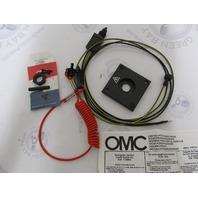 0174654 174654 OMC Cutoff Stop Switch Kit Evinrude Johnson 9.9/15HP